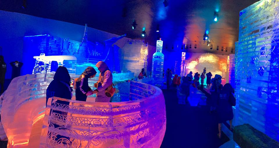 Frost Magical Ice of Siam เมืองน้ำแข็งกลางเมืองพัทยา