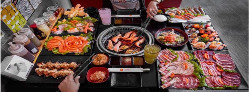 เอาใจสายกิน กับ Tenjo Sushi & Yakiniku Premium Buffet