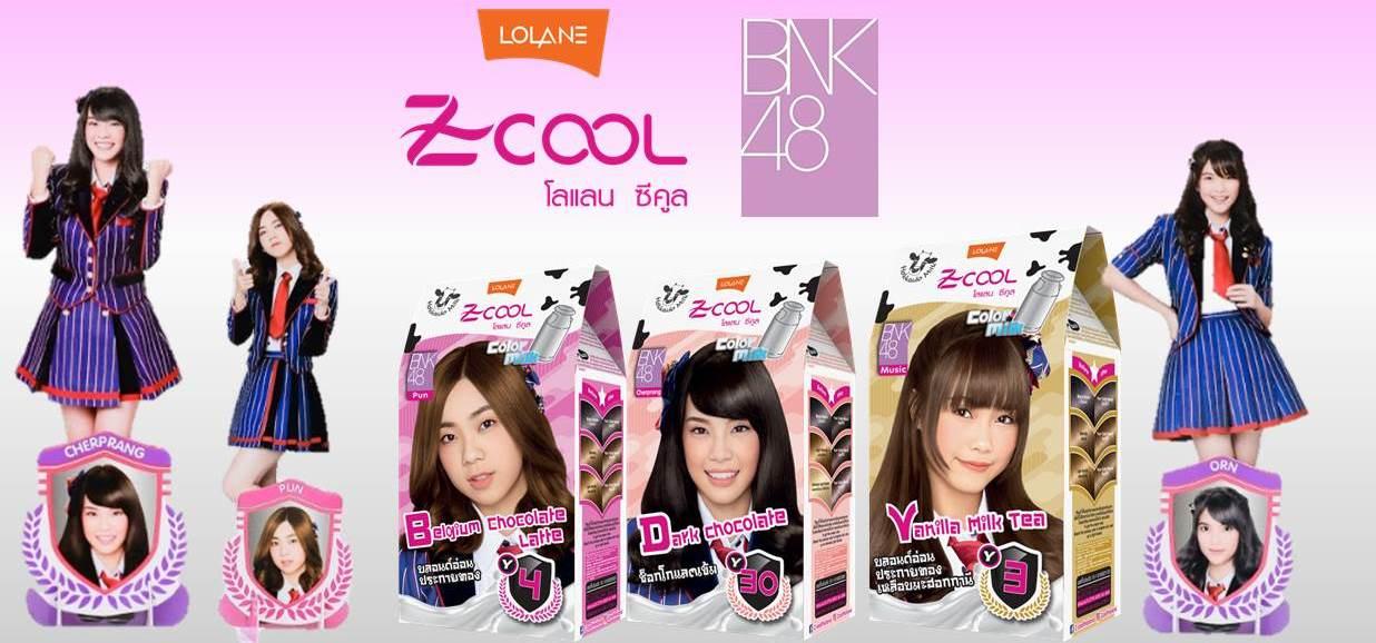 เปลี่ยนสีผมสนุก แถมได้สะสม Mini Standy BNK48 ไปกับ Lolane Z-Cool ><