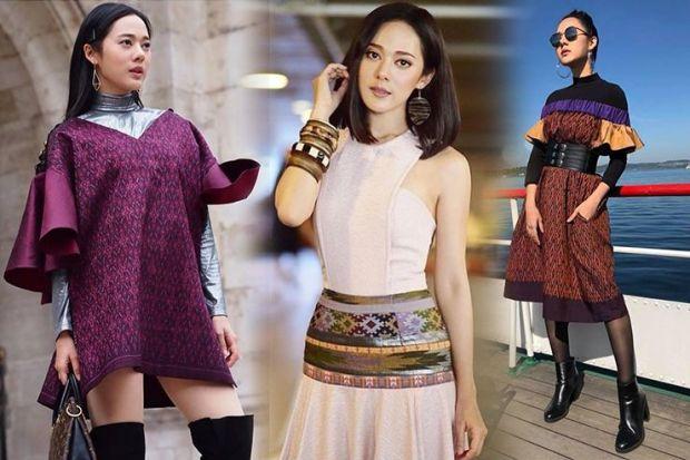 แฟชั่นผ้าไทยดารา 2